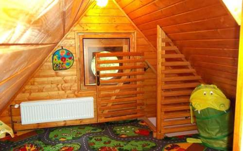 Children's playroom in the attic