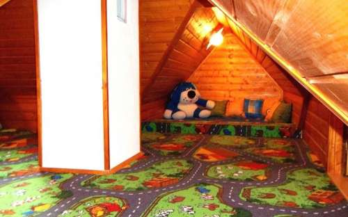 Large attic for children