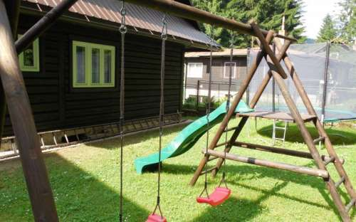 Fun for children at Horní Bečva cottage