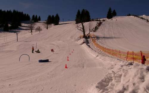 Skischool skigebied Ostružná