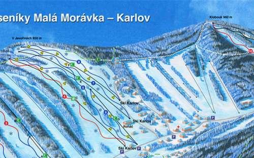 スキーイェセニーキマラモラフカ-カルロフ