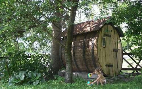 Południe - domek dla dzieci