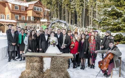 Svatba na chatě