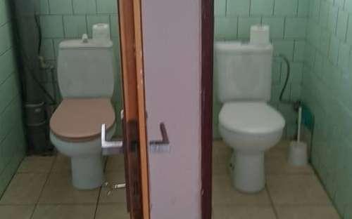 コテージOrasice 52-アパート1階、トイレ