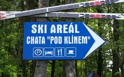 Ski areál Chata pod Klínem