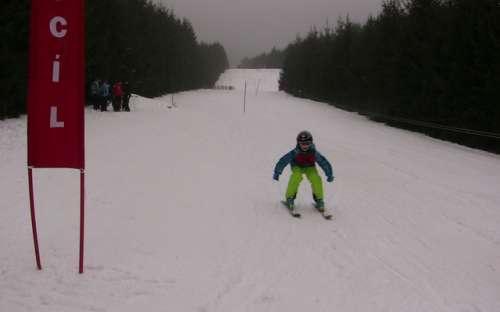 Dětské lyžařské závody o ceny lesních zvířátek 2018