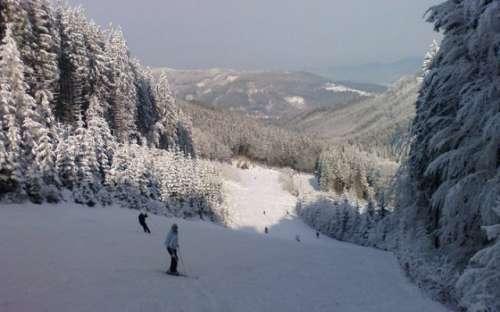Skiën in Beskydy