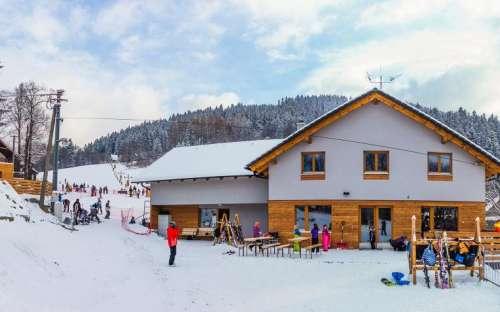 Pension de famille sous la montagne de Lysa, Beskides, région de Moravie-Silésie