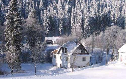 Horská chata Pstruhovka, Pstruží Krušné hory, karlovarsko