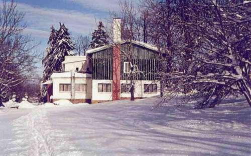 Horská chata Radost v zimě