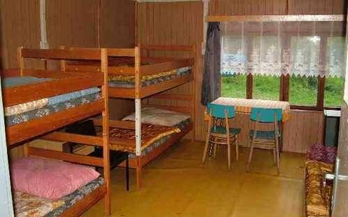 bungalov č. 6 - spodní ložnice