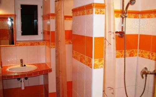 dámské sprchy po rekonstrukci