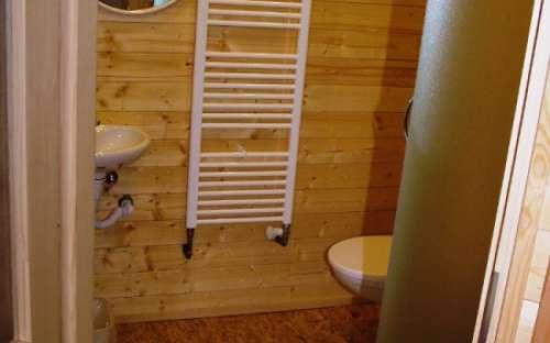 Nově zrekonstruovaný pokoj č. 13 - koupelna