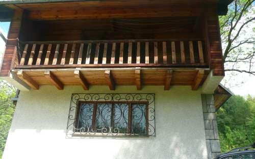 Balkon č. 1