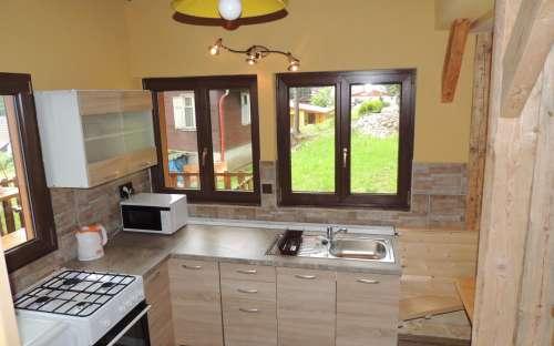 Apartmán přízemí - kuchyň