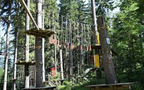 Forest erfaring park i Dolní Morava