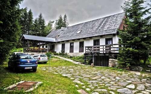 Chata Staré sedlo, celoroční ubytování v Jeseníkách