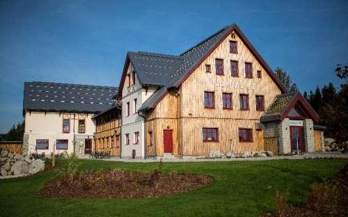 Chata Tesanka, w Górach Izerskich, Liberec
