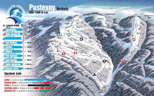Skiën Pustevny
