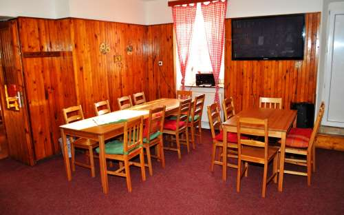 Chata U Kostela Příchovice - spisestue og lounge