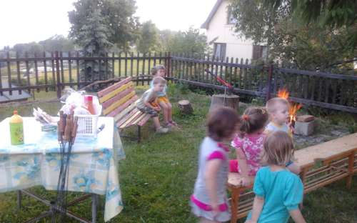 Pořádání pobytů pro školky a školy na chatě