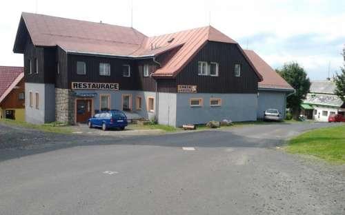 Horská chata U Kostela Kořenov, Jizerské hory, Liberecký kraj