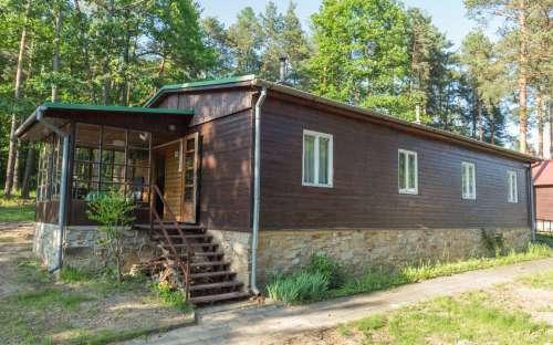 Cottage vicino alla foresta - diga di Vranov