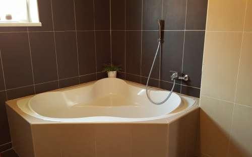 Ubytování - koupelna