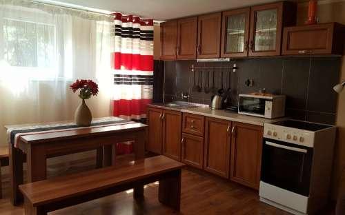 Ubytování - kuchyně