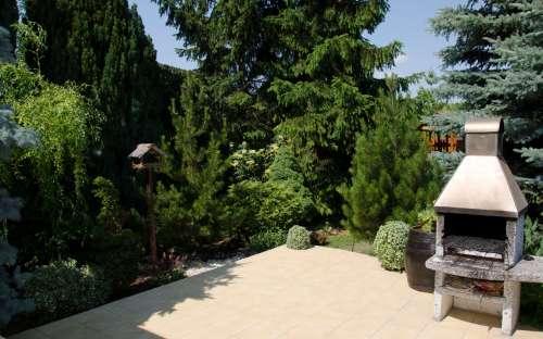 Ubytování - zahrada