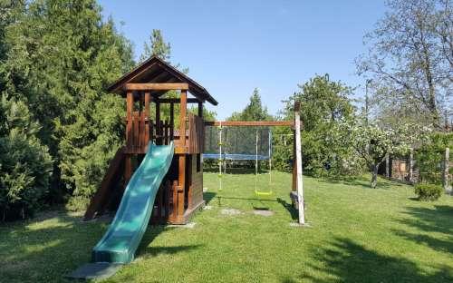 Ubytování - dětské hřiště