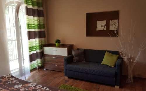 Ubytování - obývák