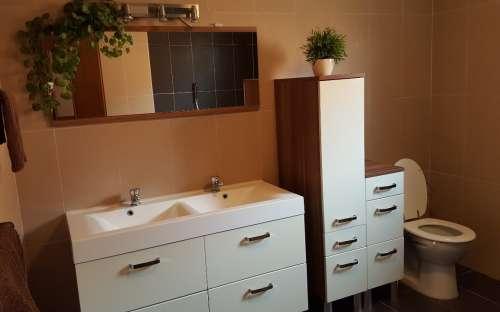 Ubytování - wc, koupelna