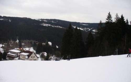 Chata u Vachtů - lyžování na Šumavě, ski areál