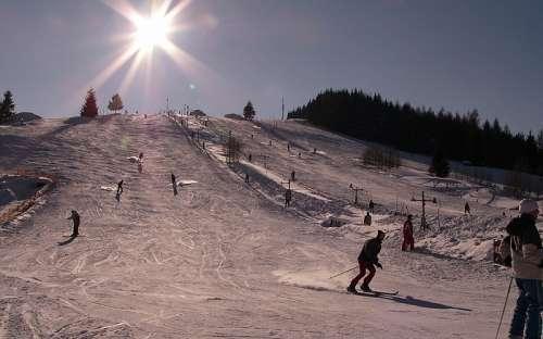 Ski resort Ostružná, Jeseníky