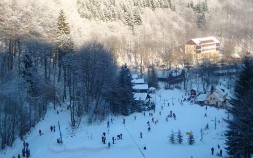 スキー場Telnice