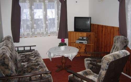 Chata Podkrkonoší - stue