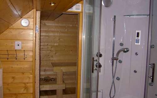 Koupelna 1, sauna