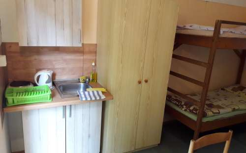 chalé com kitchenette