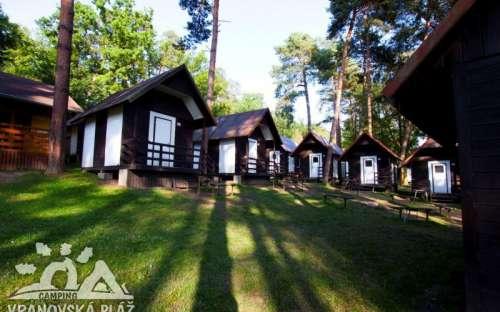 Camping Vranovská pláž - chalets