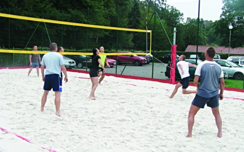 Chatová osada Bítov - sportoviště