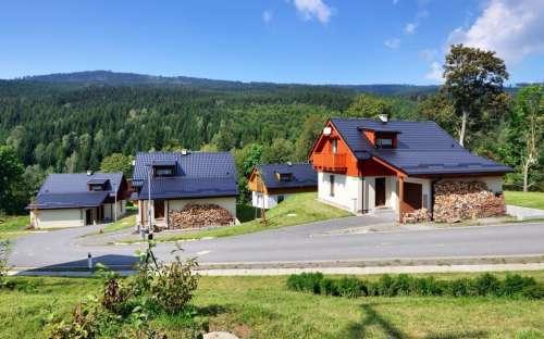 Chaty Jiřinka, Resort Dolní Morava, Králický Sněžník