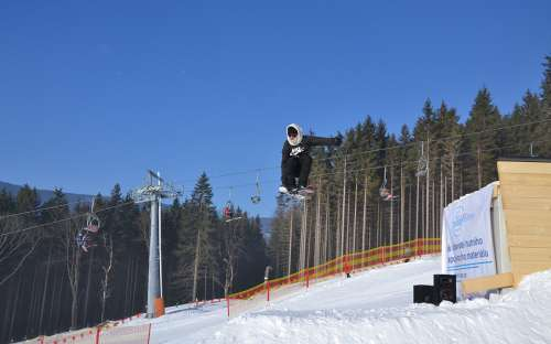 Freestyle Dolní Morava ski resort
