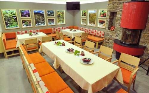 Restaurace v penzionu Jiřinka - kapacita 45 míst