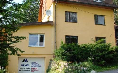 Chatová areál Marta - Beskydy