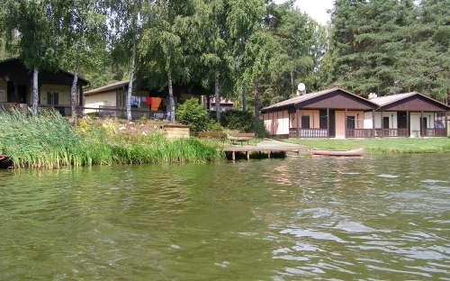 Chaty Malý Ratmírov - rybník