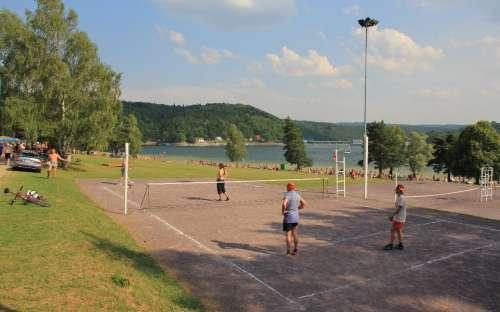 Chata Vranovská přehrada - volejbal