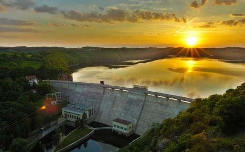 Chata Vranovská přehrada - natation
