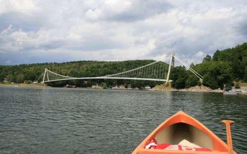 Chata Vranovská přehrada - nuoto, pesca