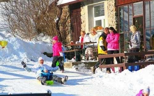 Zima - Dobrá chata